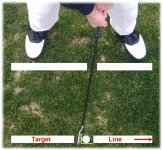 Click to enlarge alignment of clubface and body picture